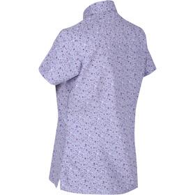 Regatta Mindano V Camiseta Mujer, lilac bloom petal
